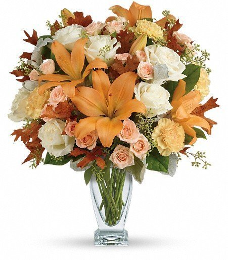 Due to flower supply challenges, we are giving our designers the freedom to arrange uniquely special bouquets special on your behalf using a mix of the freshest in-store blooms. However, our designers will do their best to create a bouquet as close as possible to what you selected.